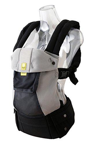 リルベビー LILLEBABY 抱っこ紐 【正規代理店輸入】 COMPLETE 6-in-1 6WAYベビーキャリア エアフロー3Dメッシュ (グレー/シルバー) lb0005-02 新生児(3.2kg)-約4歳(20kg) 6通りの抱っこが可能