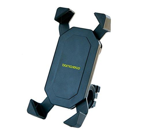 Barrichello(バリチェロ) バイク 自転車 用 スマホデスロックホルダー 厚さ調整パッド付属 多機種対応 保証書付き
