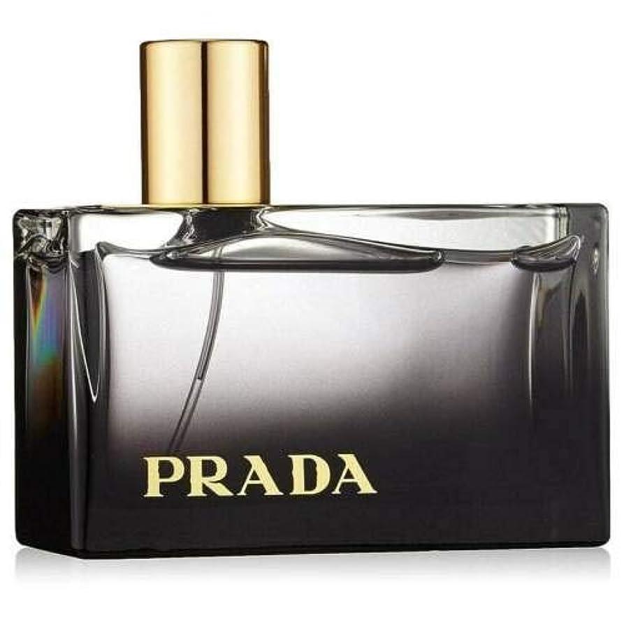免疫するはっきりと慣性Prada L'Eau Ambree (プラダ ローアンブレ) 2.7 oz (81ml) EDP Spray (テスター/箱なし?キャップ無し) for Women