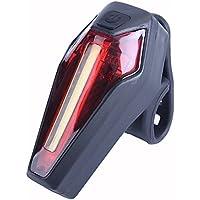 Cyuhu ティーライト 自転車 高輝度ledテールライト IPX4防水 4点灯モード 電池式
