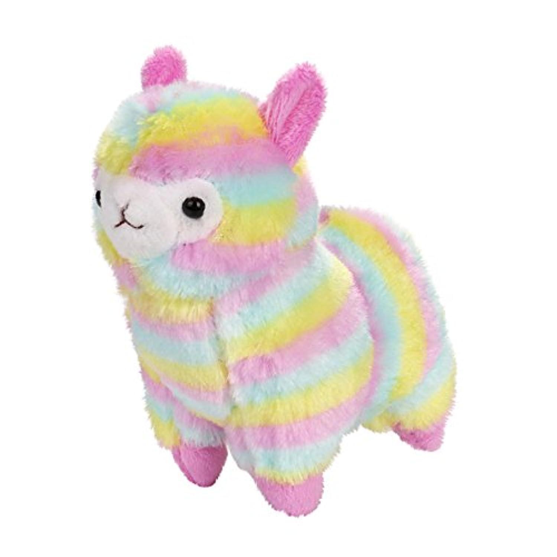 Wffo 13cm カラフル かわいい アルパカ ラマ アルパカ ソフト ぬいぐるみ 人形 ギフト かわいい おもちゃ Wffo - toy