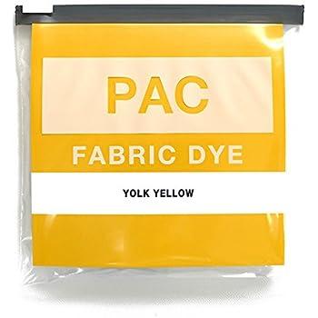 PAC FABRIC DYE 繊維用染料 col.09 ヨークイエロー