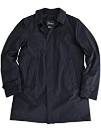 (ヘルノ) Herno メンズ ステンカラー型ダウンコート ネイビー 正規取扱店