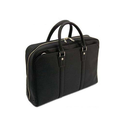(ラガシャ) LAGASHA QUADRO 薄マチ 2WAYビジネスバッグ 40cm 7715 (ブラック(01))