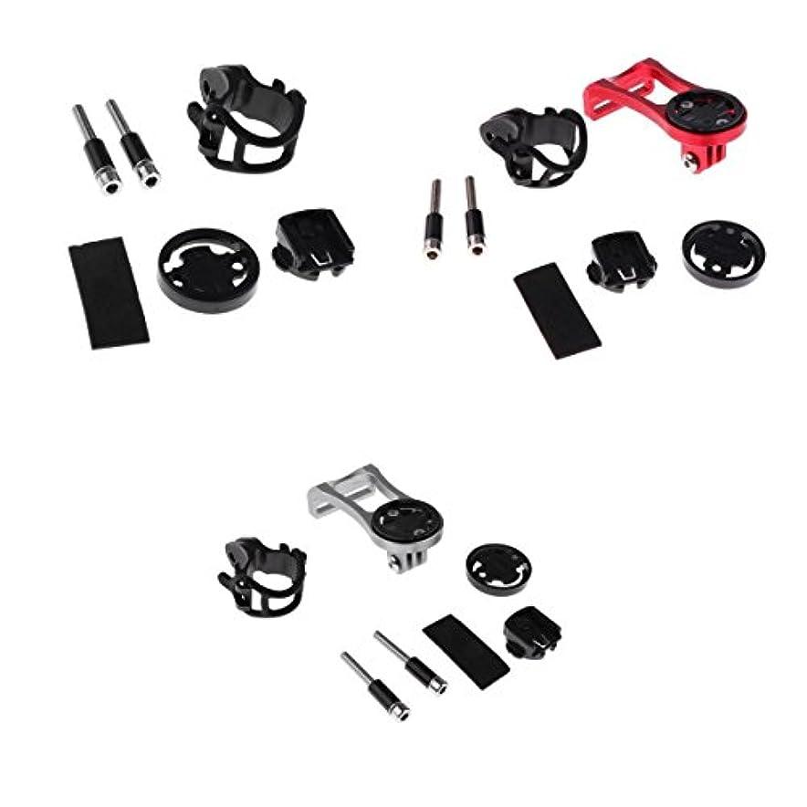 証書議会カイウスアルミ製 アダプター バイク サイクルコンピューター/GPS 取り付け Garmin Edge/Cateye/Brytonと交換