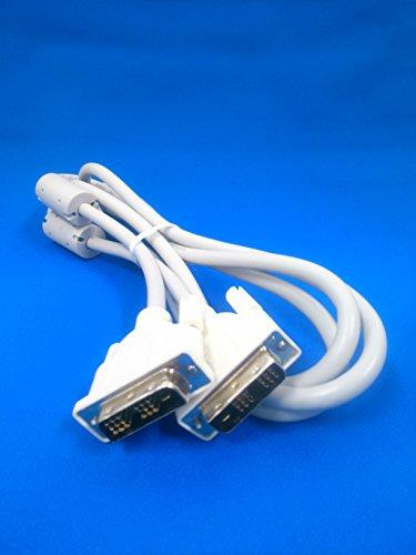 디스플레이용DVI(디지탈)케이블 DVI-D 1.8m 화이트(Connector:화이트)-