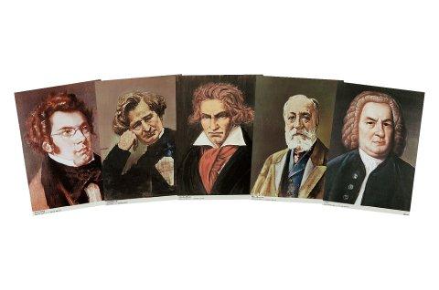 世界大音楽家肖像画集 増補版