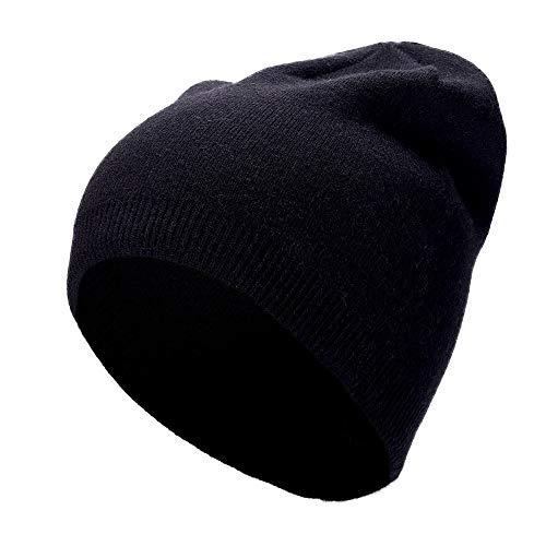 スキー帽 ユニセックスカフ付きニット帽子キャップあなたの頭は...