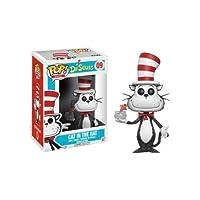 Funko - Figurine Dr Seuss - Cat In The Hat Fish Bowl Exclu Pop 10cm - 0889698124539