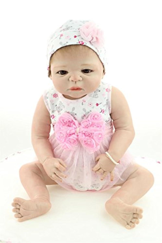 rayish Rebornベビー人形ソフトSilicone 22インチ55 cm磁気Lovely Lifelike Cute Lovely Take bath baby