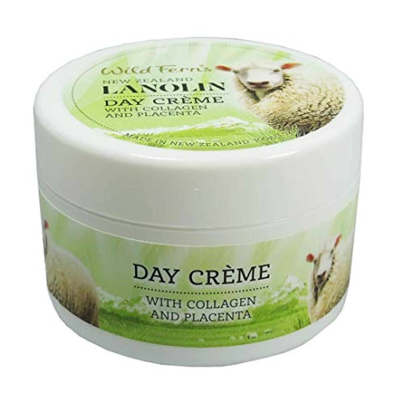 火山学ベジタリアン予防接種するLanolin Day Creme Pot 100g