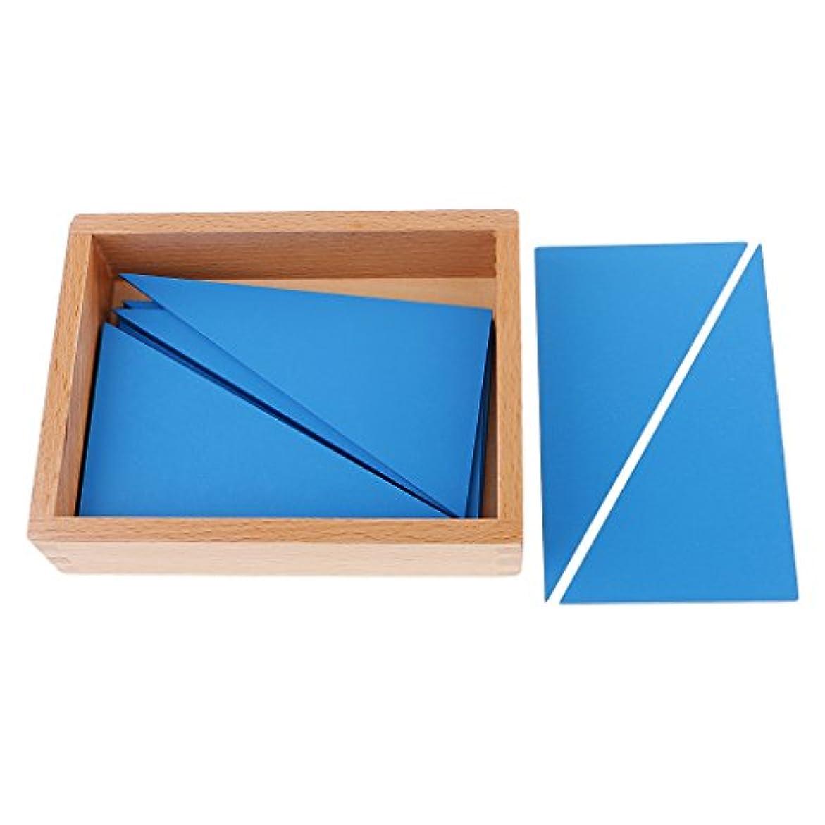 王女貴重な抑圧者Generic 官能材料建設的な青い三角形幼児子供のおもちゃ