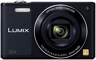 Panasonic デジタルカメラ ルミックス SZ10 光学12倍 ブラック DMC-SZ10-K