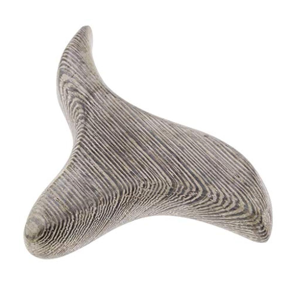 珍しい症状ファシズムPerfeclan 三角形 掻き板 ハンドヘルド マッサージツール マッサージボード
