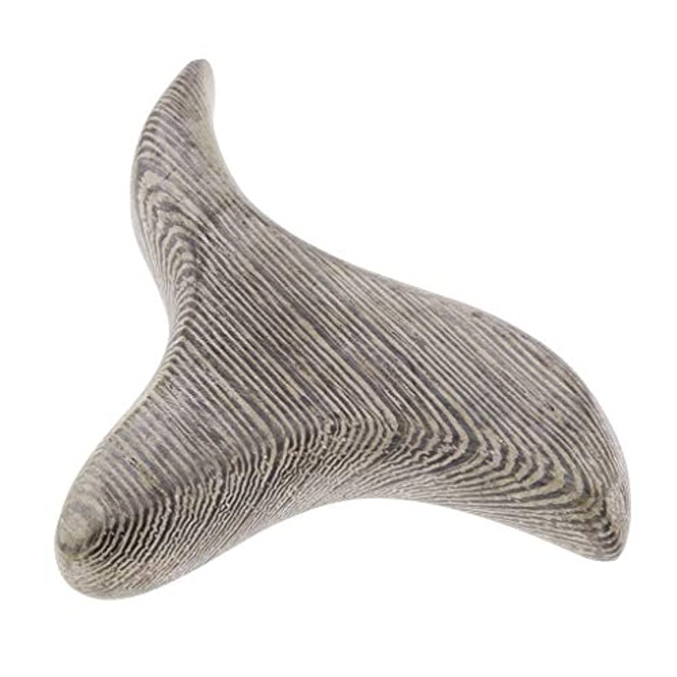 傷つけるピービッシュ省Perfeclan 三角形 掻き板 ハンドヘルド マッサージツール マッサージボード