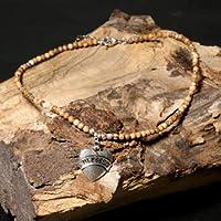 HLPGNUTY 女性のためのネックレスハート形ペンダント祝福されたネックレス天然石ネックレスペンダントチョーカージュエリーCあらゆる機会の女性のための絶妙なネックレス