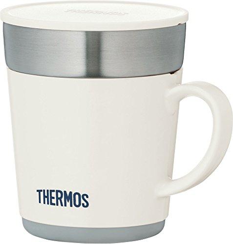 サーモス 保温マグカップ JDC-241-WH [ホ...