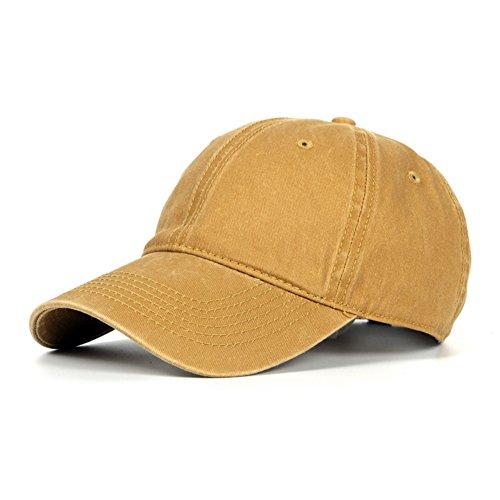 [해외]Finekoojp 모자 캡 심플 코튼 남여 야구 모자 프리 사이즈 크기 조절 벨트 포함/Finekoojp Hat Cap Simple Cotton Unisex Baseball Cap Free Size with Size Adjustment Belt