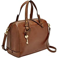 FOSSIL Women's Caroline Bag, Brown, One Size