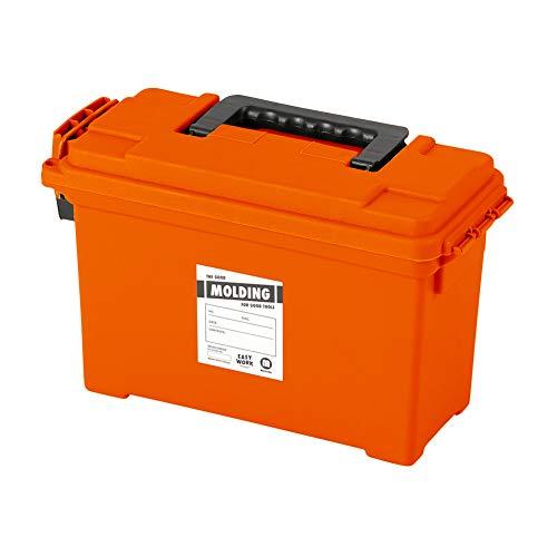 モールディング アーモ ツールボックス [オレンジ / Sサイズ] BRID molding AMMO TOOL BOX S