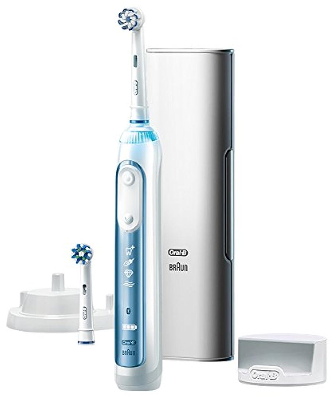 上に液化する血色の良いブラウン オーラルB 電動歯ブラシ スマート7000 D7005245XP D7005245XP