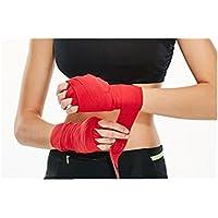 Dongen 1ペアブラック伸縮性120インチメンズHandwrapsボクシングキックボクシングムエタイ総合格闘技の