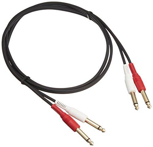オーディオテクニカATL474A/1.5  モノラル標準プラグ×2⇔モノラル標準プラグ×2 ラインケーブル/1.5m   ATL474A1.5