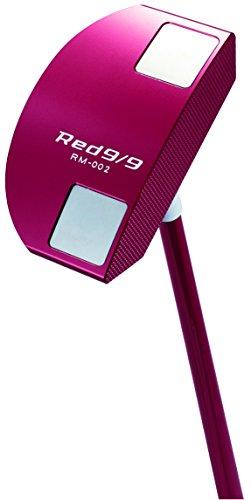 キャスコ(Kasco) パター Red9/9 パター(マレットタイプ) カーボン ユニセックス Red9/9 RM-002 右 ロフト角:1.5度