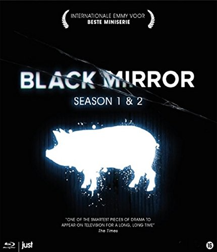 Black Mirror Serie 1 & 2 - Bd [Blu-ray] [Import anglais]