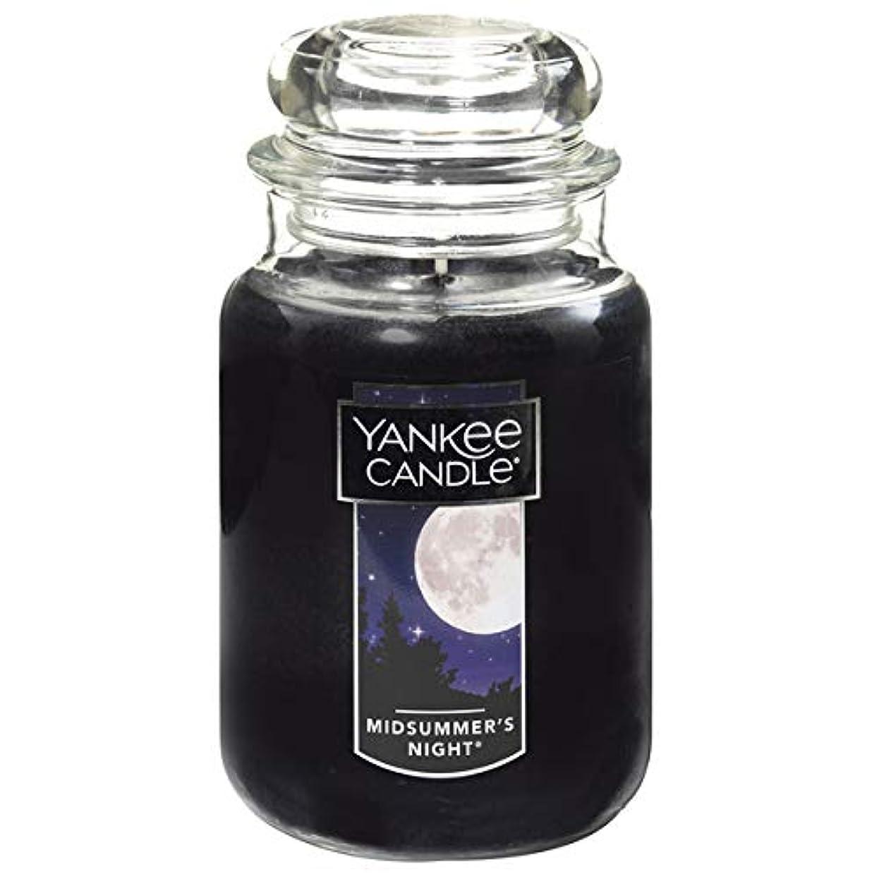 表面ハイブリッド精神的にYANKE CANDLE(ヤンキーキャンドル):YCジャーL ミッドサマーN YK0060511