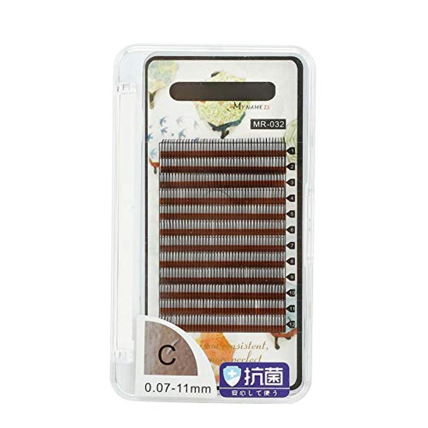 茎保証するファントムつけまつげ、接ぎつけまつげ、束ねられたつけまつげ接ぎ木長い偽のつけまつげクラスタエクステンション化粧の美しさまつげのためのつけまつげ(11mm)