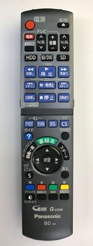 パナソニック ブルーレイレコーダー用 リモコン送信機 N2QAYB000554