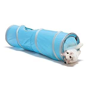 猫壱 キャットトンネルスパイラル ブルー