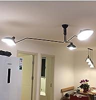 phube照明モダン天井ランプ3アームSerge Mouille天井ライト回転ダイニングルーム天井照明 20170326011