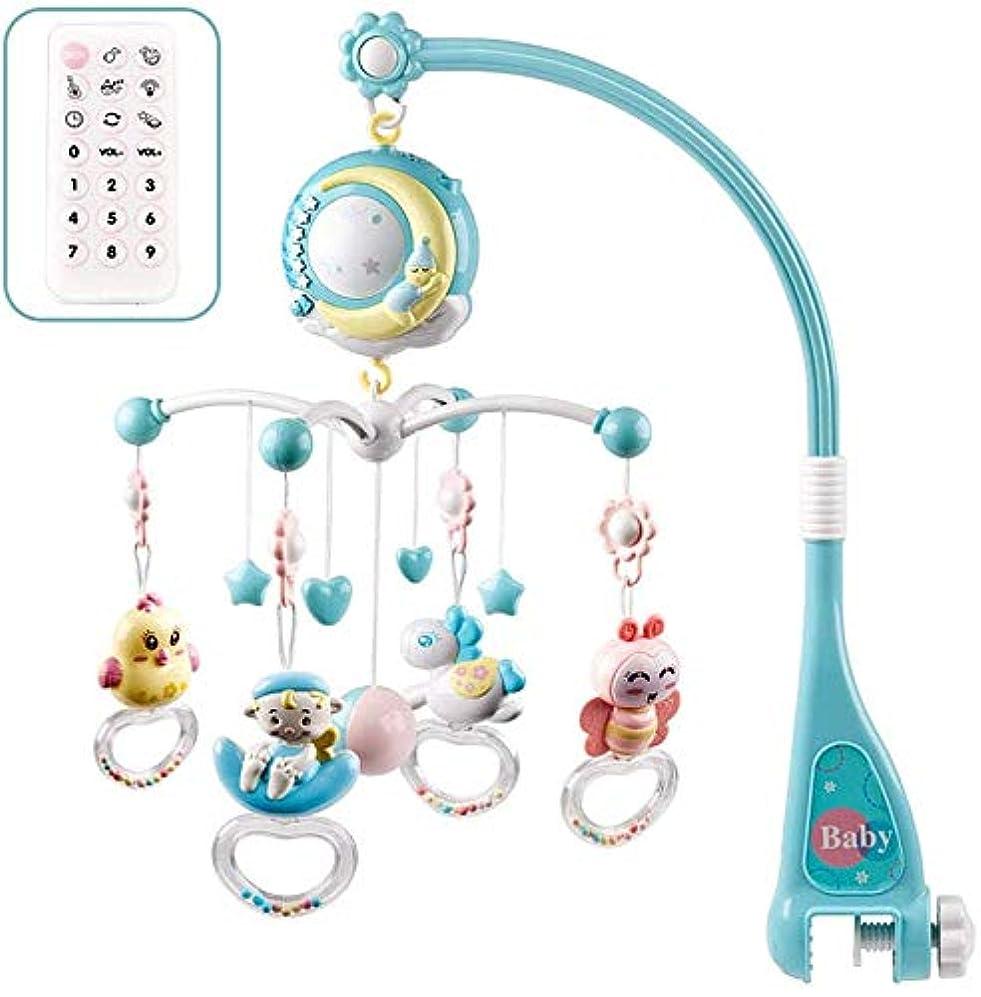 冬先生樹木ベッドメリー モビールQunqene ベッドメリー ベッドベル 音楽回転 新生児のおもちゃ 玩具ん吊り下げ 寝室 ライト付 吊り掛け 出産祝い プレゼント