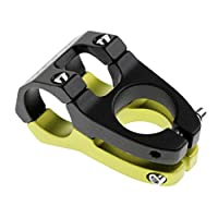 SunniMix 合金 自転車 ステム 高強度 自転車 ハンドルバー ステム 31.8x45mm  全4色 - ブラックグリーン