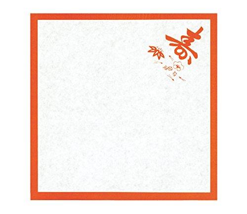 『業務用』 敷紙 スマ寿入 6寸 (18×18cm) 1000枚入
