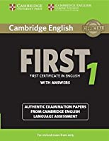Cambridge English First 1 for Revised Exam from 2015 Student's Book with Answers: Authentic Examination Papers from Cambridge English Language Assessment (FCE Practice Tests) by Cambridge University Press(2014-10-27)