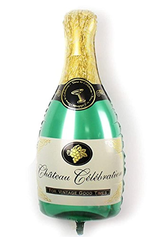 パーティーパーク シャンパン ボトル バルーン 結婚式 パーティー 飾り 装飾 誕生日 お祝い サイズ約98㎝×48.5㎝ J032