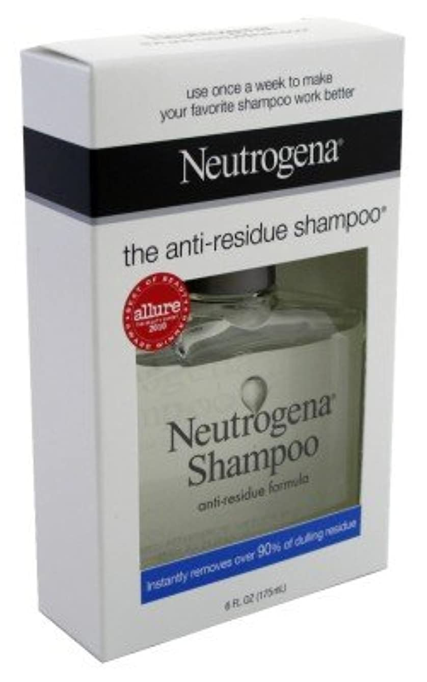 母音伸ばす圧力海外直送品Neutrogena Neutrogena Anti-Residue Shampoo, 6 oz (Pack of 6)
