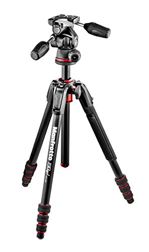 Manfrotto 三脚 190Go! アルミ 4段 3ウェイ雲台キット M...