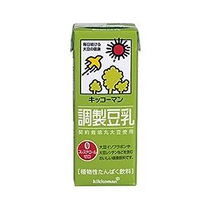 キッコーマン飲料 調製豆乳 200ml×18本
