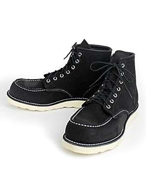 (レッドウィング) RED WING 8874 6inch CLASSIC MOC TOE ブーツ ブラックラフアウト US4E(約22cm)