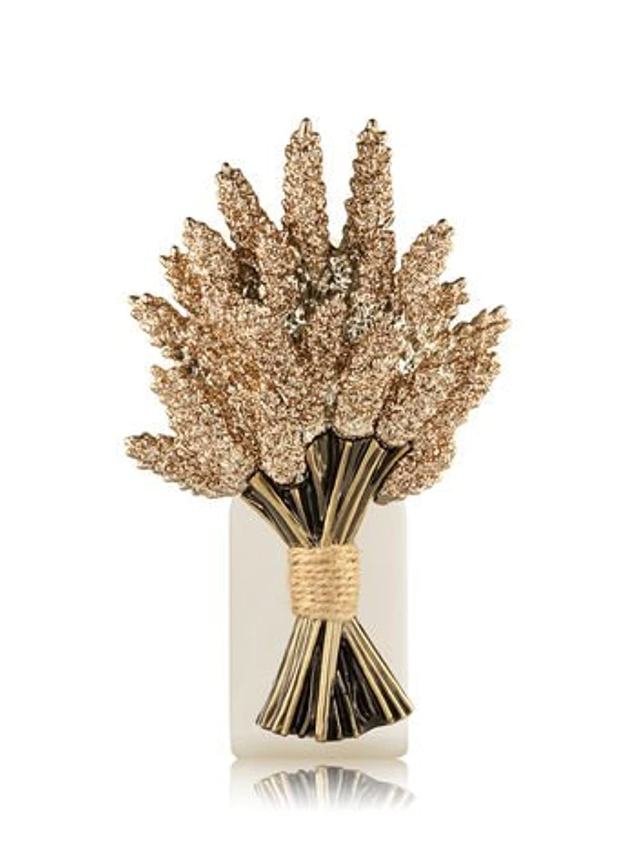 ビリー借りている建築家【Bath&Body Works/バス&ボディワークス】 ルームフレグランス プラグインスターター (本体のみ) シマリングウィートバンドル Wallflowers Fragrance Plug Shimmering Wheat...