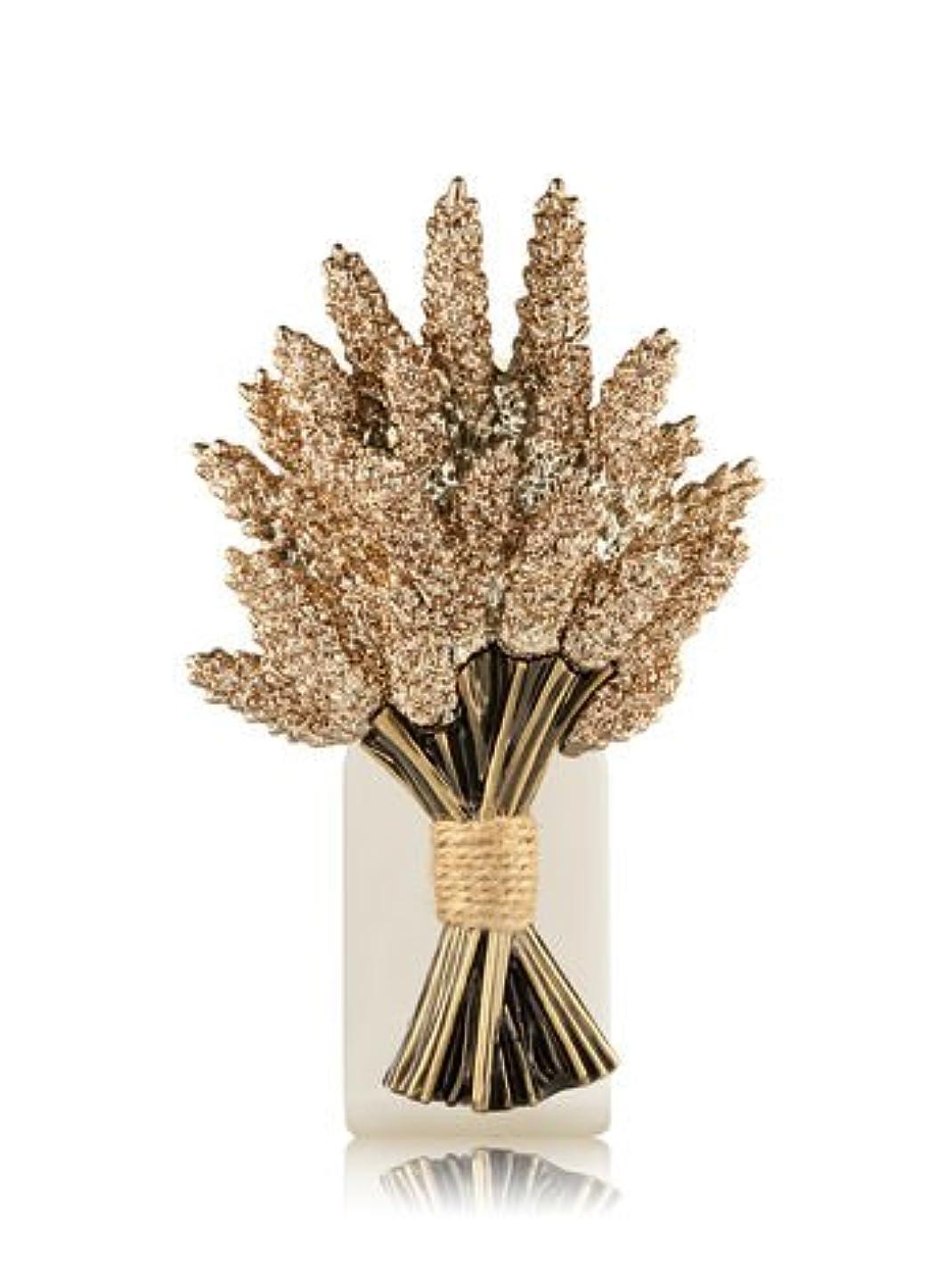 そのパレード偏心Bath and Body Worksホワイトバーンきらめくゴールド小麦バンドルElectric Wallflowers Fragrance Plug