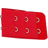 uxcell® 5 Pcs Red Bra Extension Replacement Extenders 2 Hooks