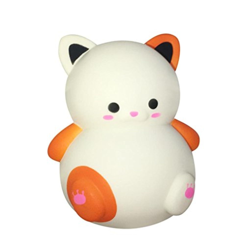 cinhentおもちゃシミュレーションCute FatペットCat Cartoon Animal香りつきSlow RisingコレクションSqueezeノベルティハンドヘルドおもちゃの自閉症、ADHD、Bad Habits &その他メーカーリスクフリーSensory