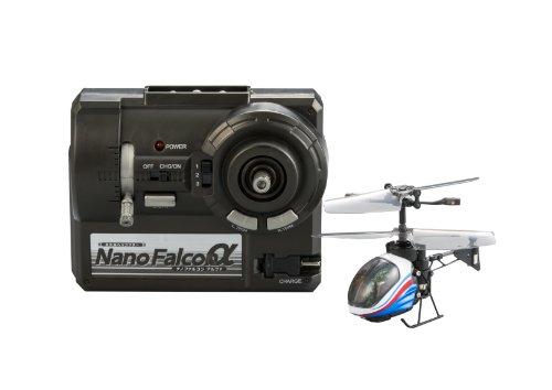 赤外線ヘリコプター NANO-FALCONα ナノファルコンアルファ メタリックブルー