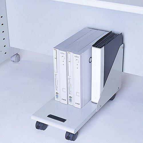 ナカバヤシ CPUワゴン ミニタワー対応 ホワイトグレー RXN-104