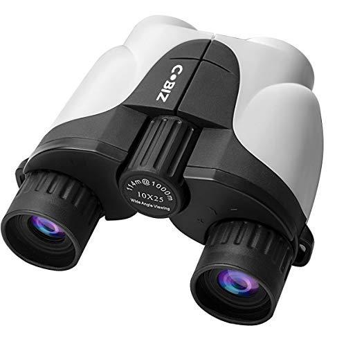 Cobiz 双眼鏡 コンサート10倍 高倍率 10×25 7.5°広視野 望遠鏡 高解像度 高透過率 軽量